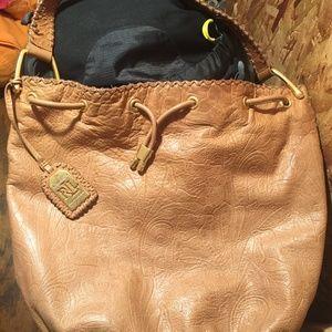 Ralph Lauren Tan leather Shoulder Bag